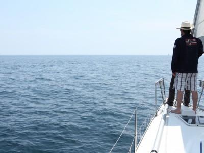 Week-End Voile – Les Glénan – En quête de dauphins !